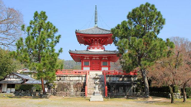 心経宝塔(大覚寺)