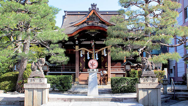 本殿(大将軍八神社)