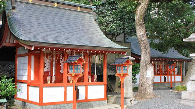 三社と五社(大将軍八神社)