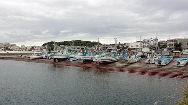 腰越漁港(江ノ電 腰越駅)
