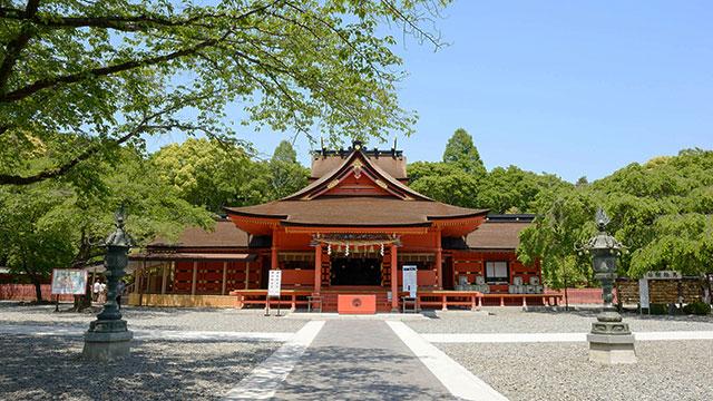 拝殿(富士山本宮浅間大社)