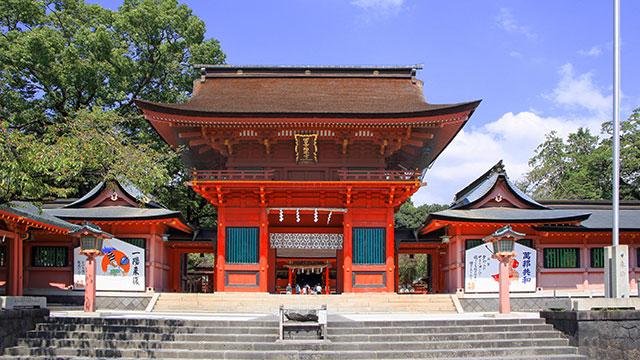 楼門(富士山本宮浅間大社)