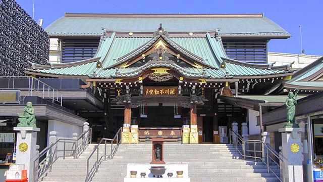 旧本堂(深川不動堂)