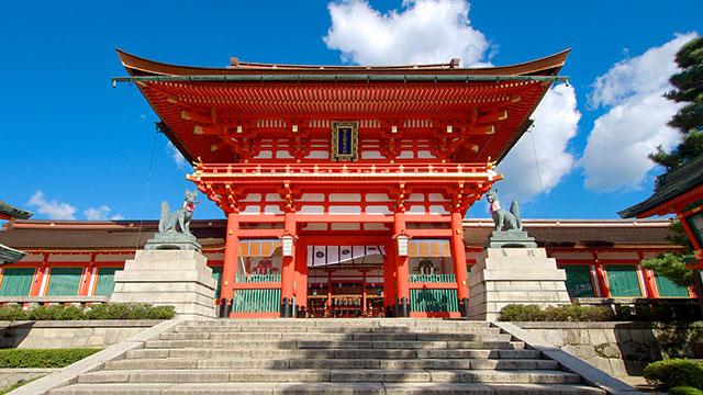 楼門(伏見稲荷大社)