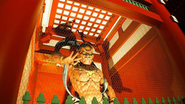 仁王像(宝蔵門)