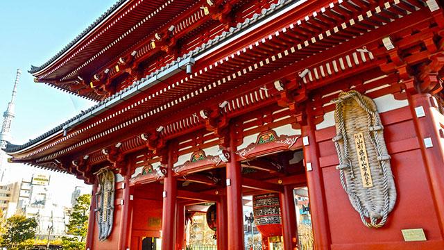 大わらじ(宝蔵門)
