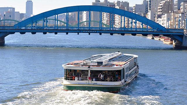 水上バス(駒形橋)