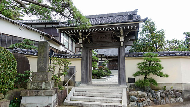 東漸寺(江ノ電 腰越駅)