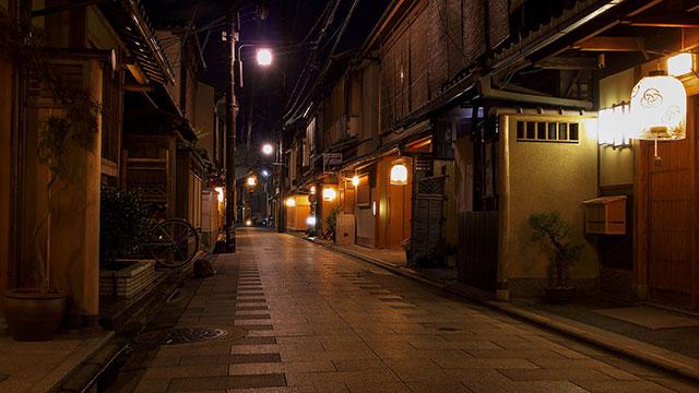 夜景(宮川町)