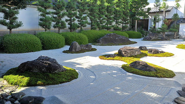 十六羅漢石庭(妙蓮寺)