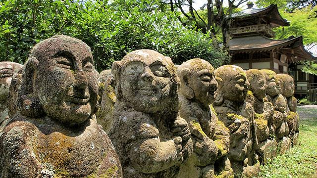 羅漢像(愛宕念仏寺)