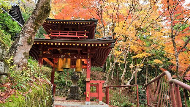 三宝の鐘(愛宕念仏寺)
