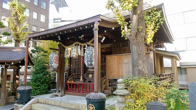 拝殿(太田姫稲荷神社)