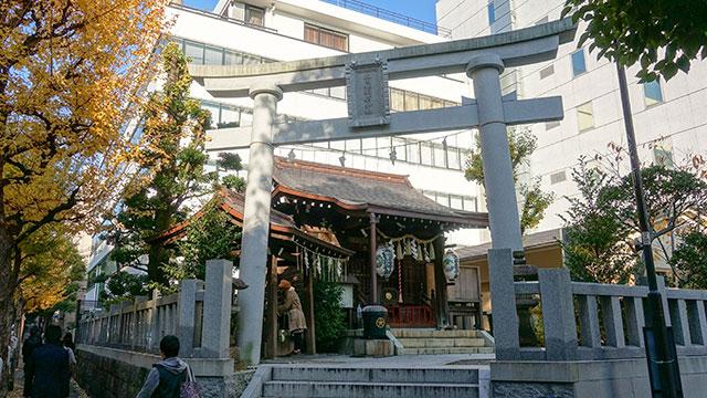 石鳥居(太田姫稲荷神社)