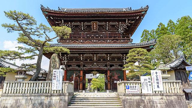 仁王門(清涼寺)