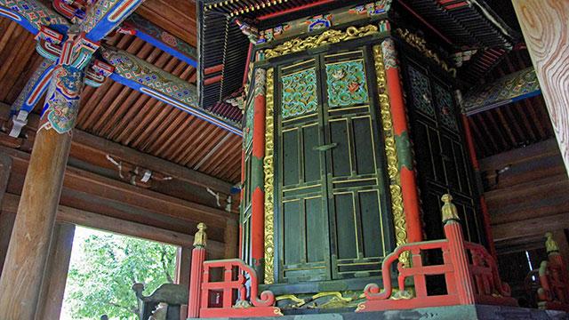 輪蔵(清涼寺)