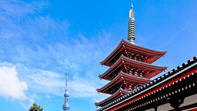五重塔(浅草寺)