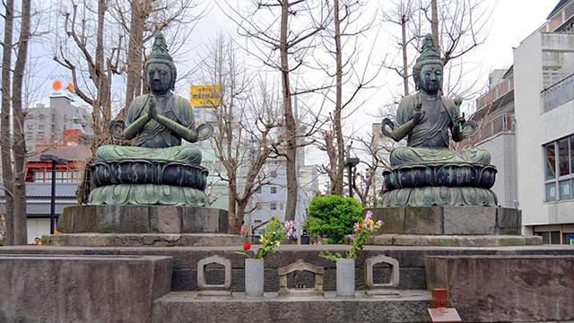 二尊仏(浅草寺)