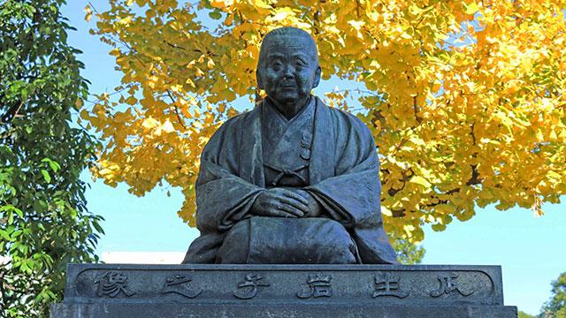 瓜生岩子像(浅草寺)