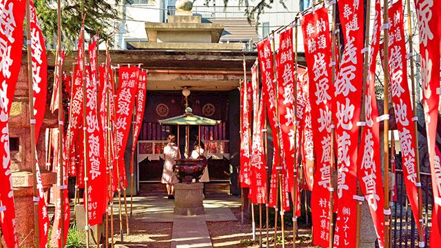 銭塚地蔵堂(浅草寺)
