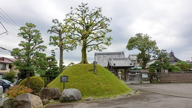 一里塚 玉井寺(清水町観光)