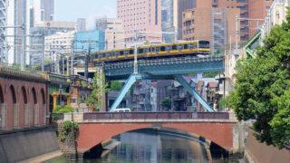 東京 昌平橋神田川の景観を象徴する歴史ある橋