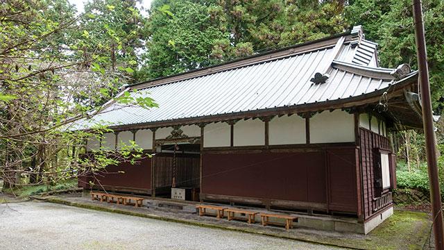 籠屋(山宮浅間神社)