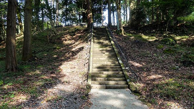 遥拝所(山宮浅間神社)