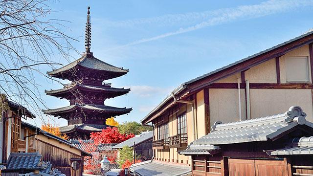 八坂の塔(八坂通り)