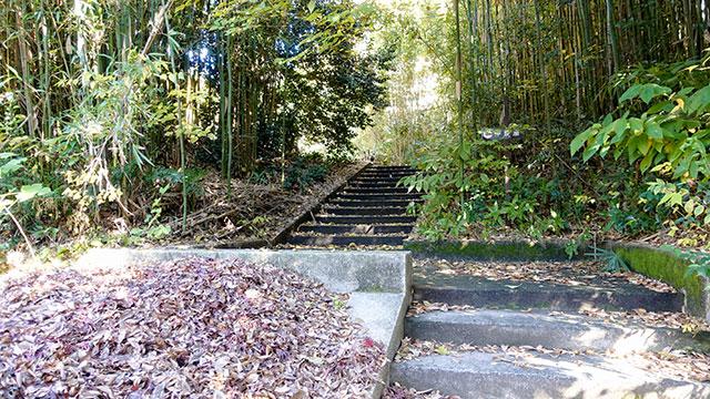 神農廟への石段(湯島聖堂)