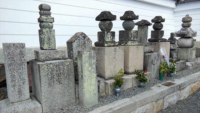 織田家家臣の墓所(阿弥陀寺)