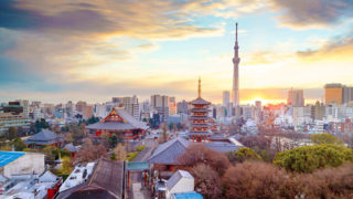 東京 浅草観光史跡からグルメスポットまで見どころ豊富な観光地
