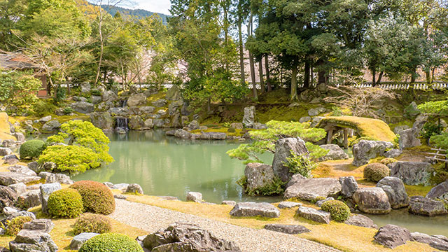 三宝院の庭園(醍醐寺)
