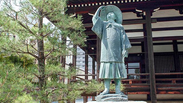 長谷川等伯像(本法寺)