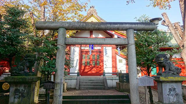 小舟町八雲神社(神田明神)