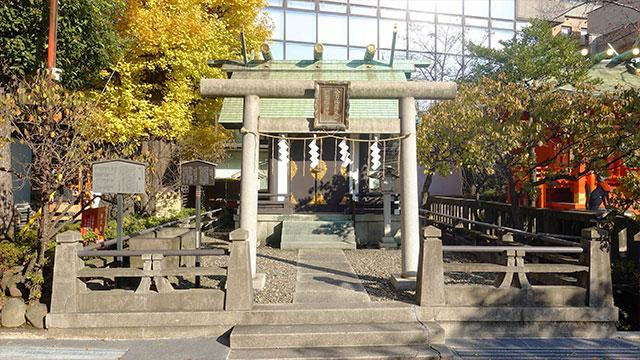 三宿稲荷神社・金刀比羅神社(神田明神)