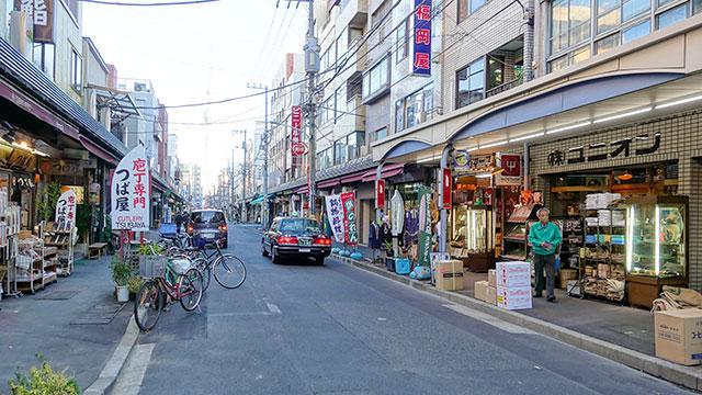 かっぱ橋道具街(浅草)