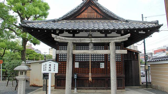一夜天神堂(壬生寺)