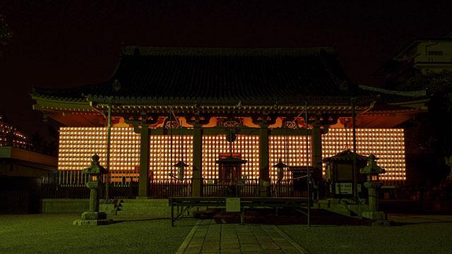 万灯供養会(壬生寺)