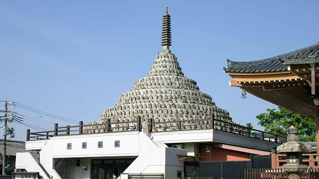千体仏塔(壬生寺)