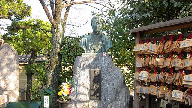 近藤勇胸像(壬生寺)