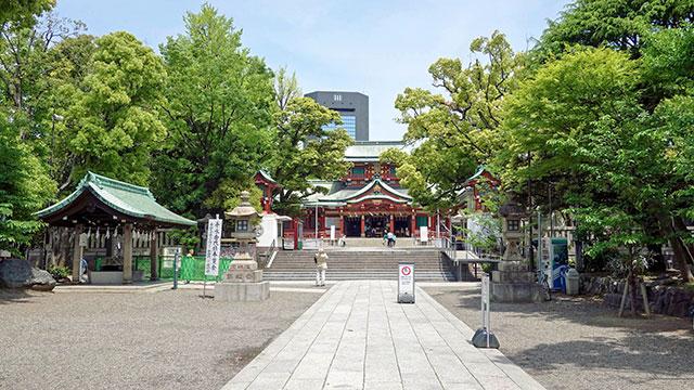 参道(富岡八幡宮)