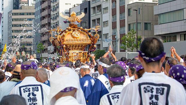 深川八幡祭り(富岡八幡宮)