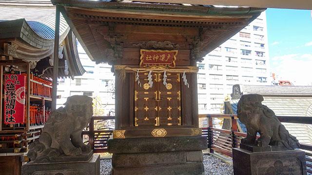 戸隠神社(湯島天満宮)
