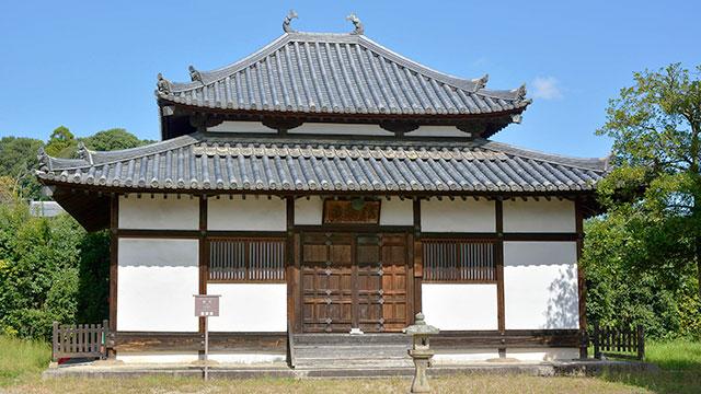 講堂(法起寺)