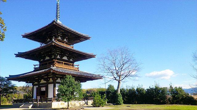 三重塔(法起寺)