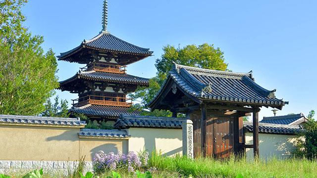 奈良 法起寺》の魅力と見どころ...