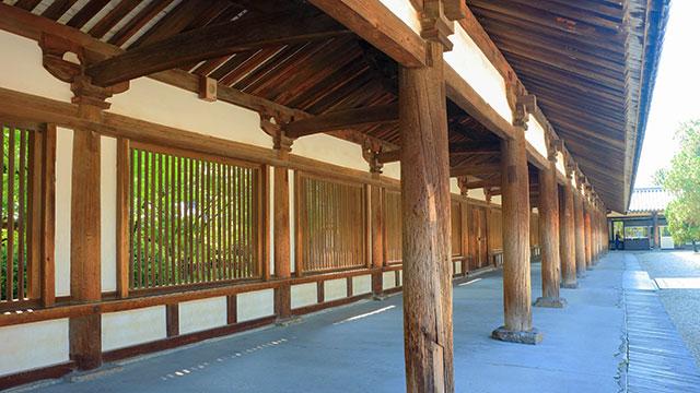 回廊(法隆寺)