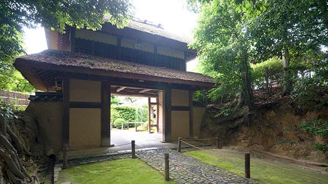 茨木城楼門(慈光院)
