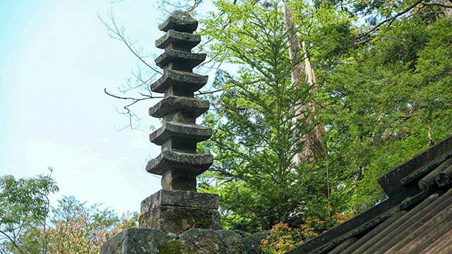七重石塔(室生寺)